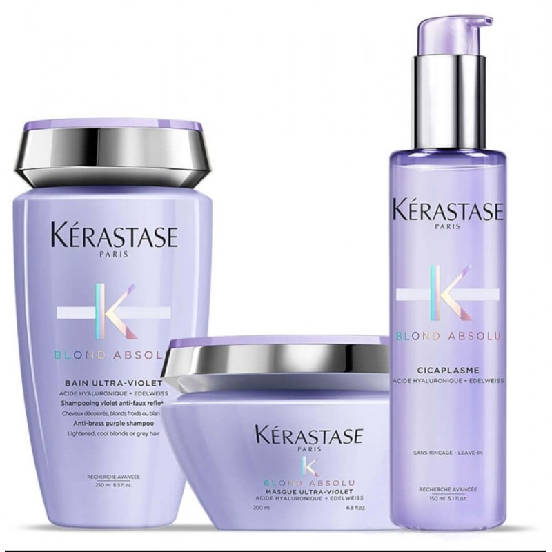 Set Kerastase Blond Absolu con caja de regalo