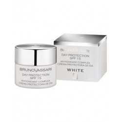 White crema protectora anti manchas de día fps 15