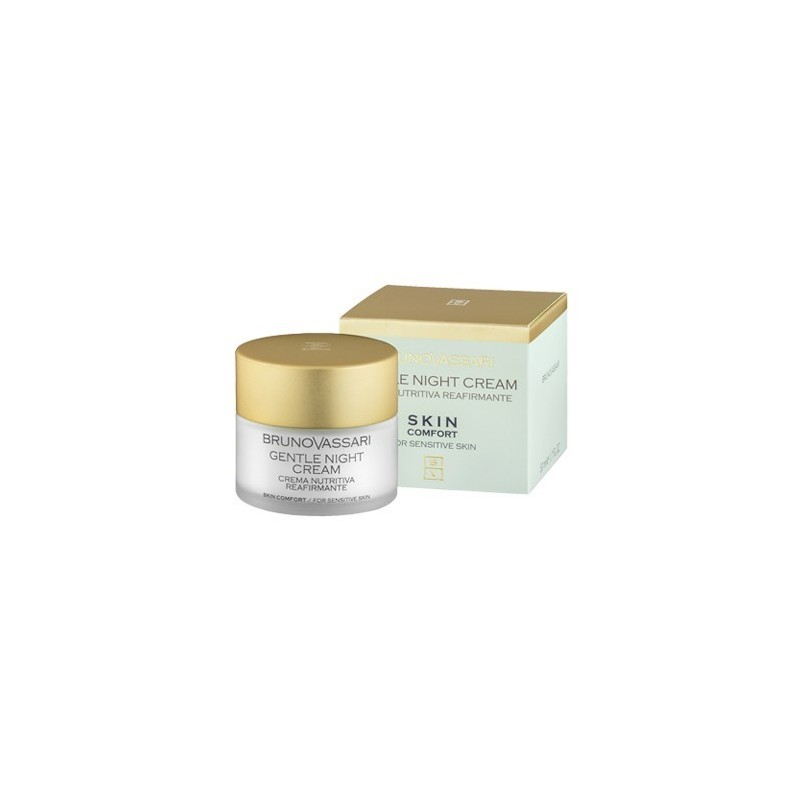 Gentle Night Cream,crema de noche nutritiva reafirmante 50ml.