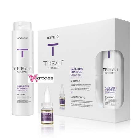 Montibello Treat Pack anti-caída Chronos Chrono-Active Treat Hair Loss Control