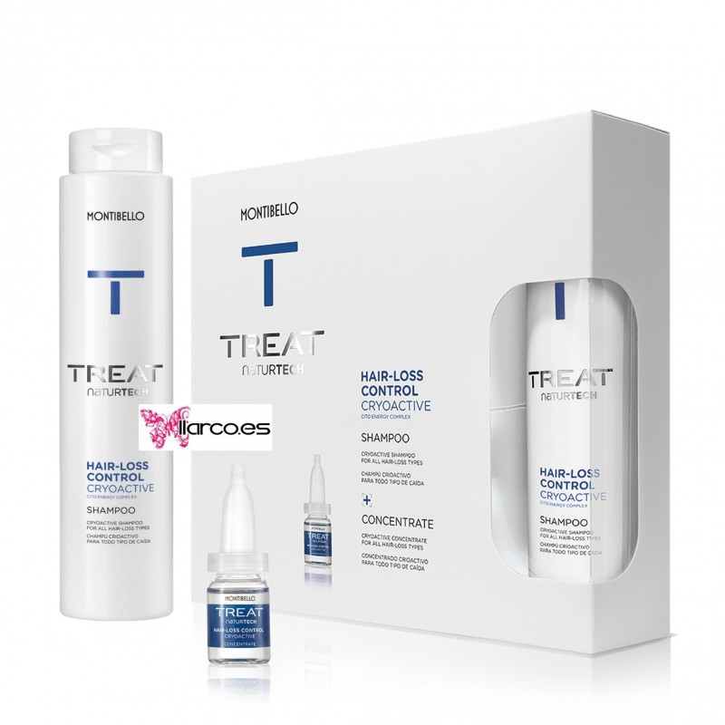 Montibello Treat Pack anti-caída Cryo-Active Treat Hair Loss Control